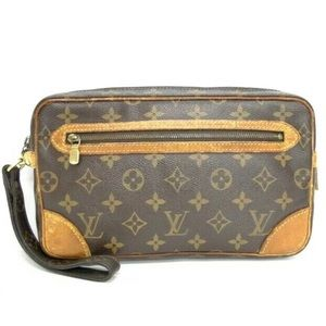 LOUIS VUITTON Marly Dragonne GM w dust bag